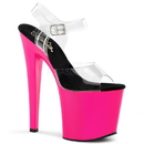 Pleaser TABOO-708UV Platforms (Exotic Dancing) : Specialty Collection, 7 1/2