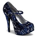 Bordello TEEZE-07SQ Shoes : Teeze, 5 3/4