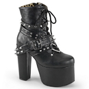 Demonia TORMENT-700 Women's Ankle Boots, 5 1/2