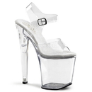 "Pleaser XTREME-808 Platforms (Exotic Dancing) : 8"" Heel, 8"