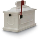 Postal Products Unlimited N1027186 White 1812 Architectural Series Mailbox