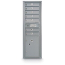 Postal Products Unlimited N1029411 7 Door Standard 4C Mailbox with 1 Parcel Locker