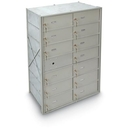 Postal Products Unlimited N1029435 13 Large Door Front Load 4B+ Horizontal Mailbox, Anodized Aluminum