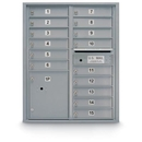 Postal Products Unlimited N1029441 15 Door Standard 4C Mailbox with 1 Parcel Locker