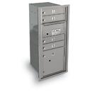 Postal Products Unlimited N1033998 4 Door Standard 4C Mailbox with 1 Parcel Door