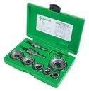 Greenlee 648 Carbide Cutter Set, Quick Change, 8Pc