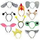 TopTie Cute Headbands Plush Headwear Party Accessories Halloween Costume