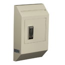 Protex WDB-110E Letter Size Wall Drop Box w/ Electronic Lock