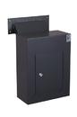Protex WDC-160-Black Protex Wall Drop Box w/ Adjustable Chute