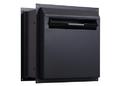 Protex WDD-180-Black Through-The-Wall Locking Drop Box