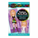 Partypro 5910 Scratch Art Fashion Sticker Party Pack