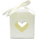 Partypro 25032P Rose Embossed Box Heart Box