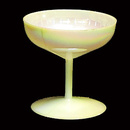 CHAMPAGNE GLASS 2IN. - IRIDESCENT
