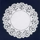 Unique Industries 6806 White Doilies (12In. - 12 Ct.)