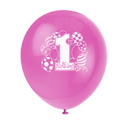 Partypro 23895 First Birthday Girl Printed Balloon