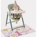 Unique 23907 First Birthday Girl High Chair Kit