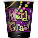 Mardi Gras Beads 9 Oz Cups