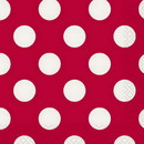 Partypro  Ruby Red Dots Beverage Napkin
