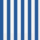 Partypro 38012 Royal Blue Stripe Lunch Napkins