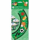 Partypro 42178 Discontinued Classic Sport Cupcake Wrap