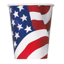 43746 Usa Flag Hot-Cold Cup