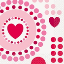 Partypro 44872 Radiant Hearts Luncheon Napkins