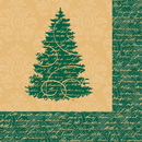 Partypro 46762 Discontinued Elegant Xmas Lunch Napkin