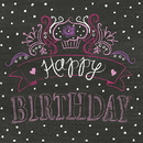 Partypro 47082 Discontinued Birthday Sweets Lunch Napkin