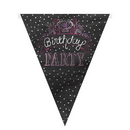 Partypro 47095 Discontinued Birthday Sweets Flag Banner