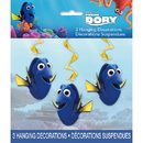 Unique 48660 Finding Dory Hanging Swirl Decoration