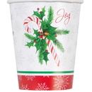 Unique 49816 Candy Cane Hot-Cold Cup