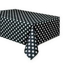 Partypro  Black Dots Tablecover