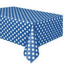 Royal Blue Dots Tablecover