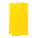 YELLOW PAPER PARTY BAGS