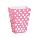 Partypro  Hot Pink Dots Treat Boxes