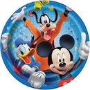 Partypro 59845 Mickey Roadster Dinner Plate