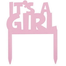 Partypro 61764 Discontinued It'S A Girl Cake Top