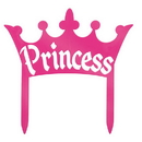 Partypro 61767 Discontinued Princess Crown Cake Top
