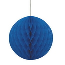 Unique Industries  Royal Blue 8 Inch Honeycomb Ball