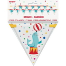 Partypro 011179724772 Circus Carnival Flag Banner