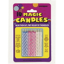 Partypro 9805M Magic Relight Spiral Candle 10/Pkg