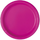 Partypro 011179991358 Neon Pink Dinner Plate (16Ct)