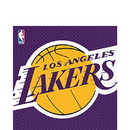 Amscan 513627 Los Angeles Lakers Luncheon Napkin