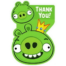 Amscan 481710 Angry Birds Thank You Notes