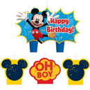 Amscan 170298 Mickey Mouse Candle Set