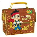 Partypro 911288 Jake Never Land Pirates Metal Lunch Box
