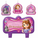 Amscan 171351 Sofia The First Candle Decorating Set