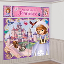 Partypro 671351 Sofia The First Wall Decorating Kit