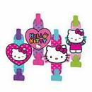 Amscan 331417 Hello Kitty Rainbow Blowouts