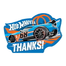 Partypro 481551 481551 Hot Wheels Wild Racer Thank You